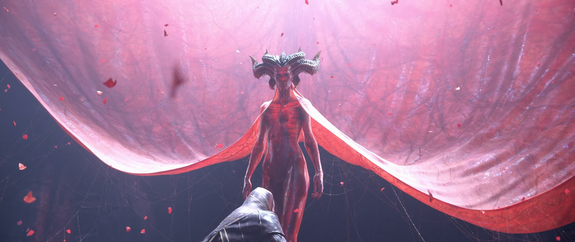screenshot of lilith being summoned by rathma