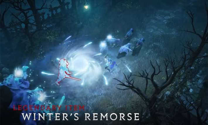 winter's remorse legendary in diablo immortal
